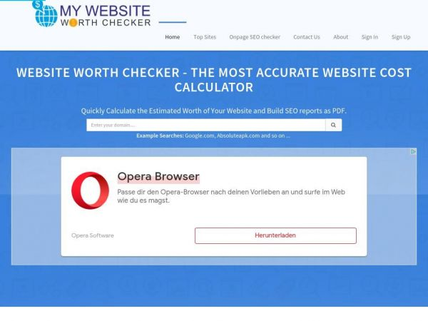 mywebsiteworthchecker.com